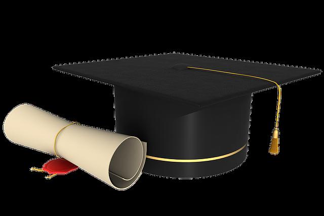 diplom s čapkou