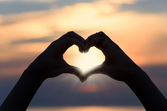 slunce v srdci